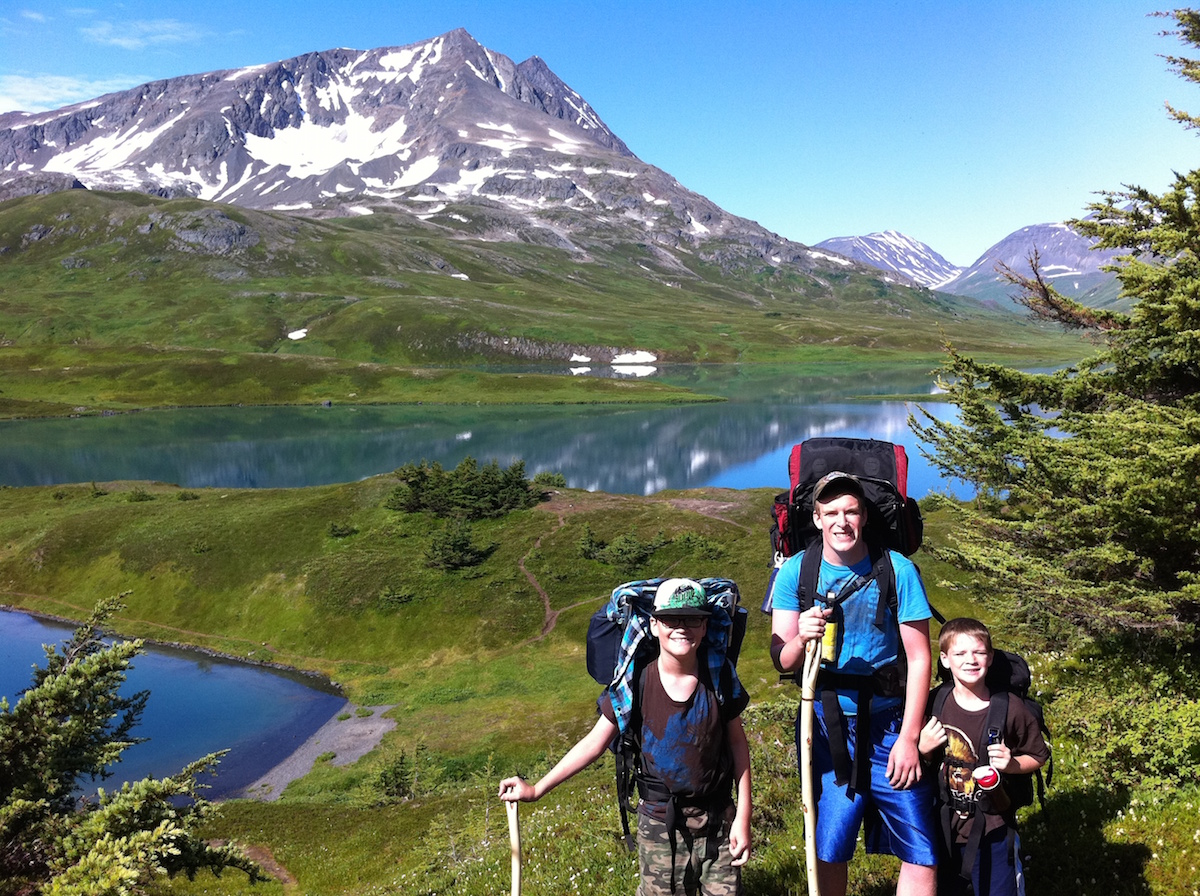 alaska drop off hiking