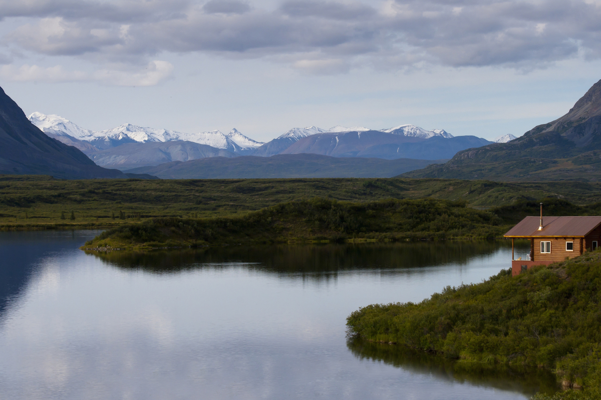 Remote Cabin Drop Off And Air Taxi Services N2 Alaska