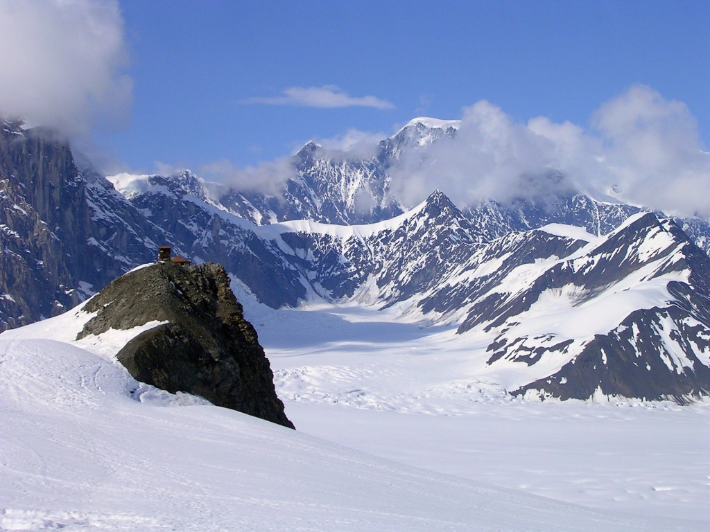 Alaska Range, Ruth Amphitheater, Alaska  № 1442073 без смс