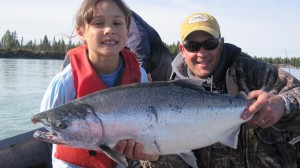 alaska family fishing