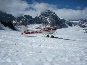glacier-landing